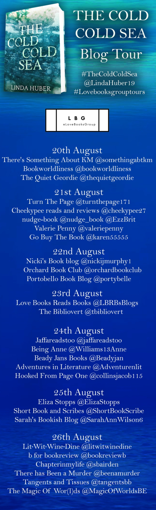 The Cold Cold Sea Blog Tour Poster