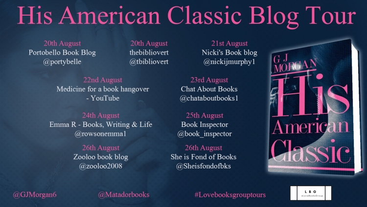His American Classic Blog Tour Poster