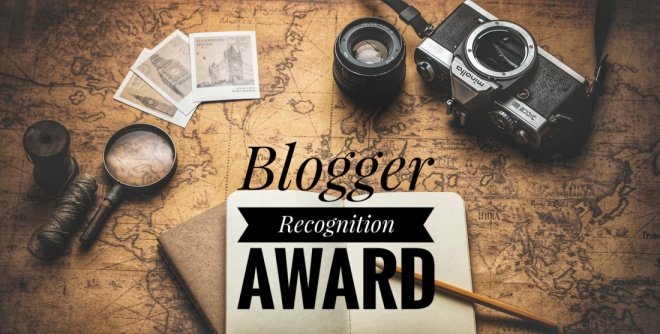 Blogger Recognition Award Image