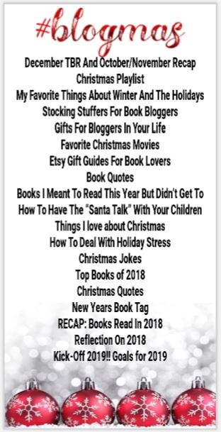 #BlogMas on The Bibliovert