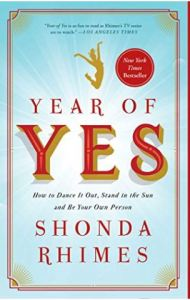 The Year of Yes by Shonda Rhimes - Cover Image