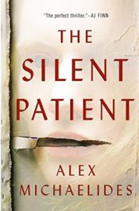Cover image of the book titled The Silent Patient by Alex Michaelides