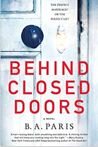 Cover image of Behind Closed Doors by B.A. Paris